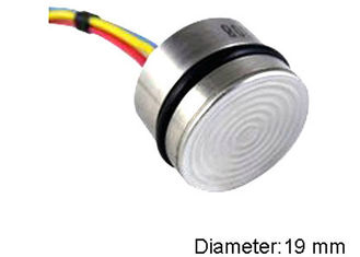 Flush Diaphragm Gas Pressure Gauge Core , MEMS Technology Liquid Pressure Switch Cell